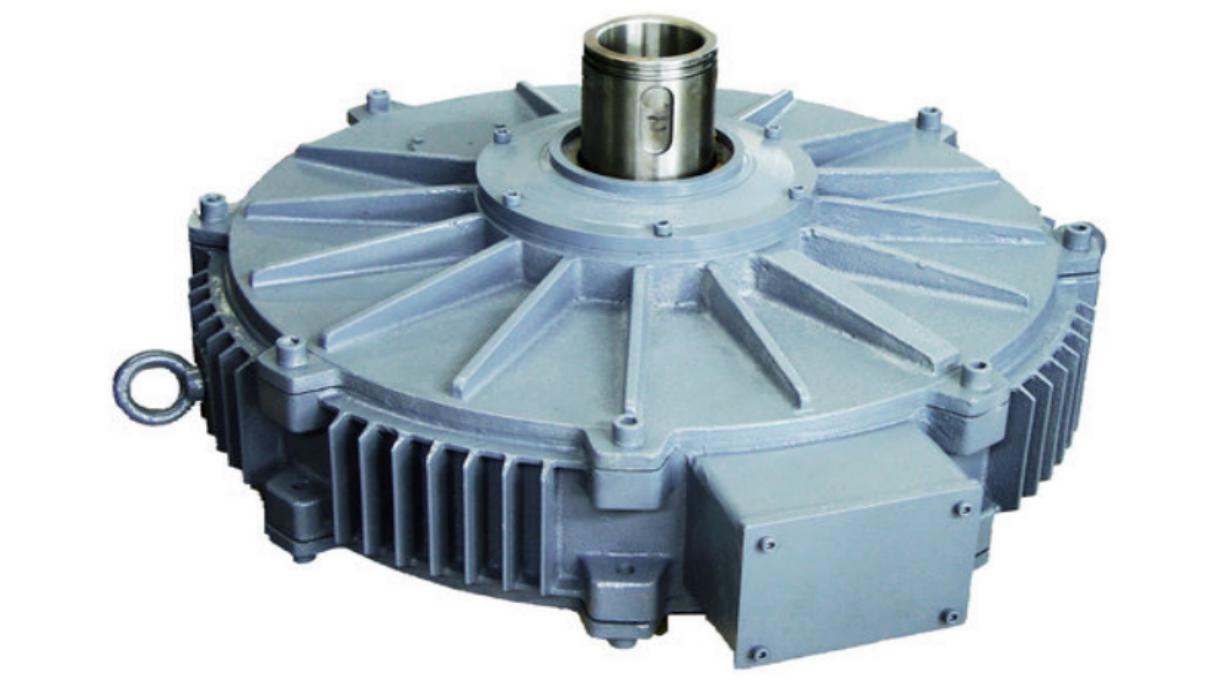 800 E series direct-drive torque motor at low speed